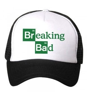 breaking bad art printed cap